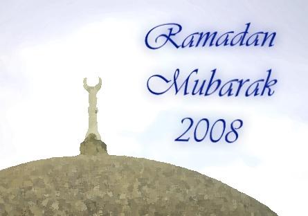 Ramadan Mubarak 2008
